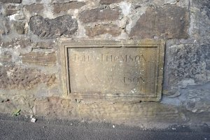 Burial Marker of John J Thomson & Ann Watson who could have been Husband & Wife.