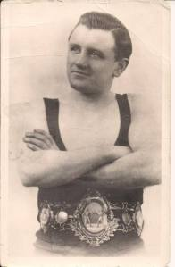 Jim Higgins British and Empire Bantamweight champion