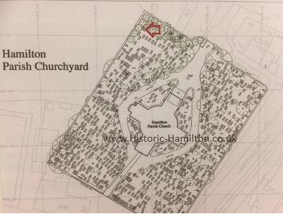 Hamilton Church Yard WM.