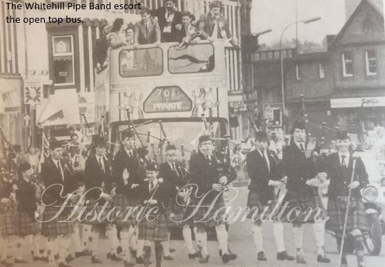 Accies & Whitehill Pipeband.