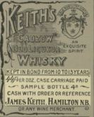 James Keith Advert21902