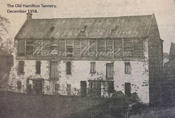 The Hamilton Tannery December 1958..JPG