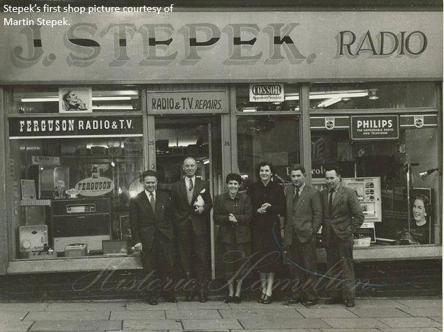 Stepeks First store opening 1959-60.WMjpg