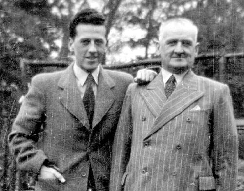 George and Harry paton, father and son 1940s