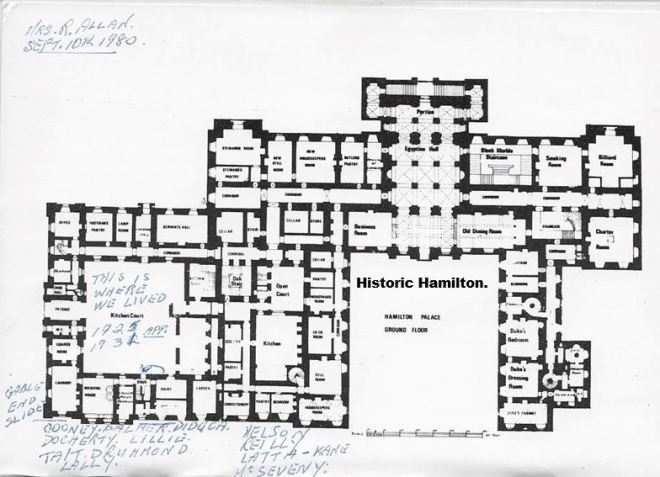 Hamilton Palace Floor Plan WM.