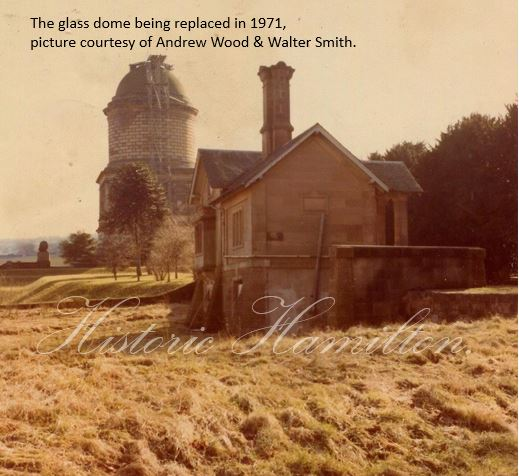 Dome being replaced in 1971.WM.