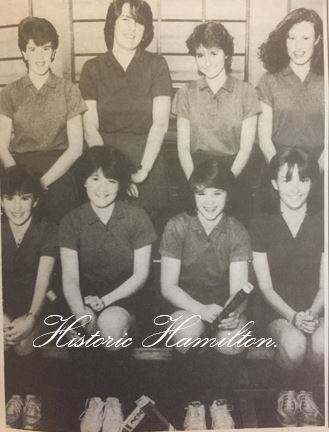 Hamilton Grammar Hockey team 1985.