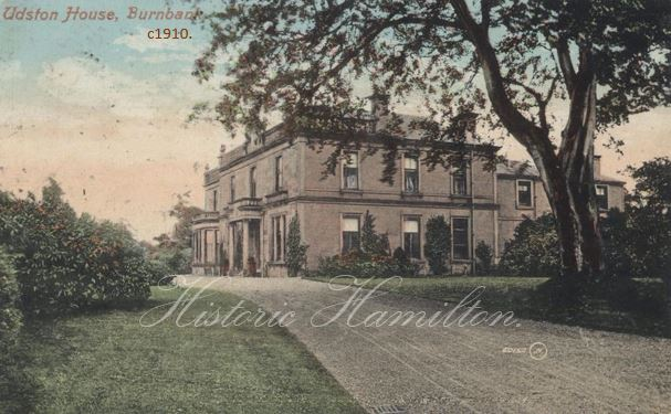 Udston House 1910 WM.