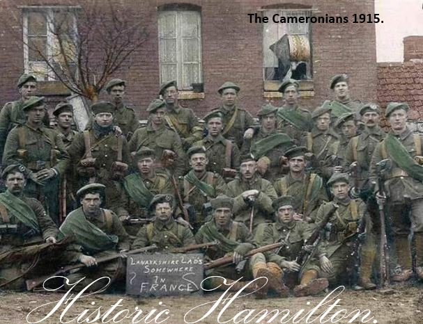The Cameronians 1915. (Somewhere in France)