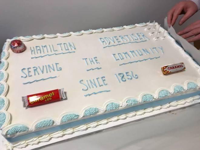 Hammy Ad Cake