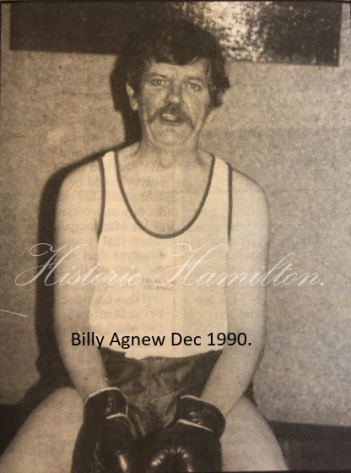 Billy Agnew - Earnock Janitor.