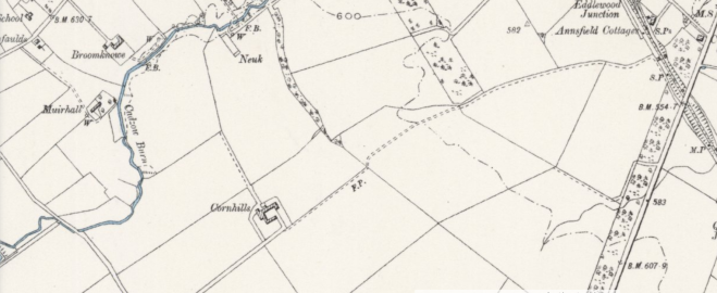 1888 Map of Cornhills Farm..PNG