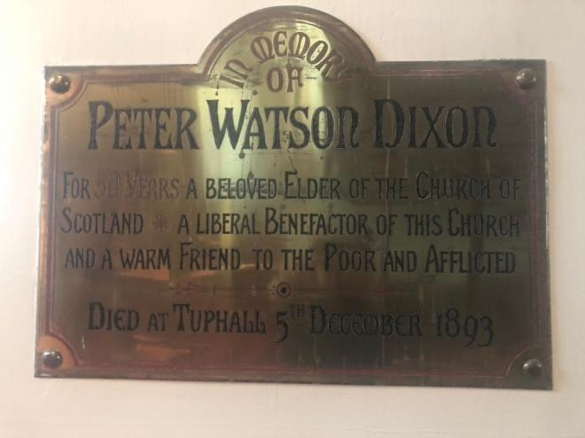 Peter Dixon Plaque1