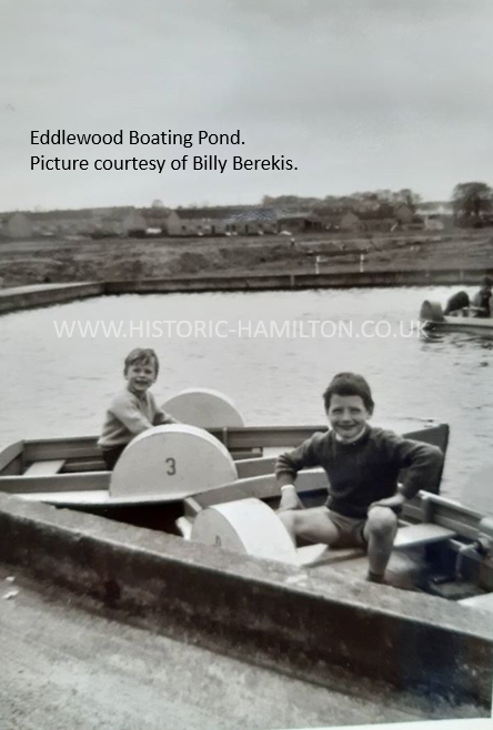 Eddlewood Boating Pond from Billy Berekis on the Meikle Earnock pageWM.1.