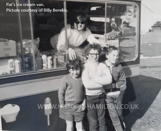 Pats icecream van picture from Billy Berekis