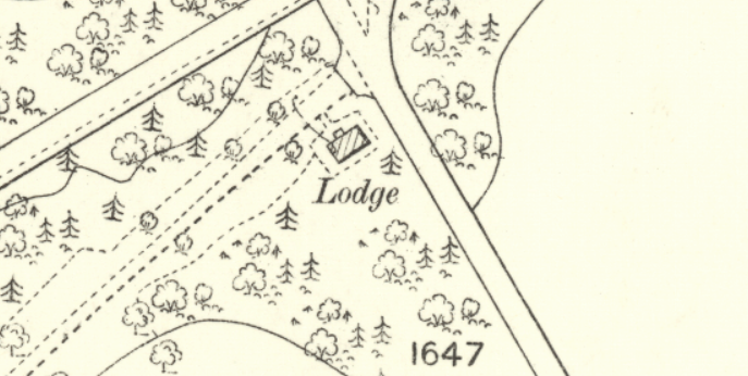 1895 Map of the Lodge.