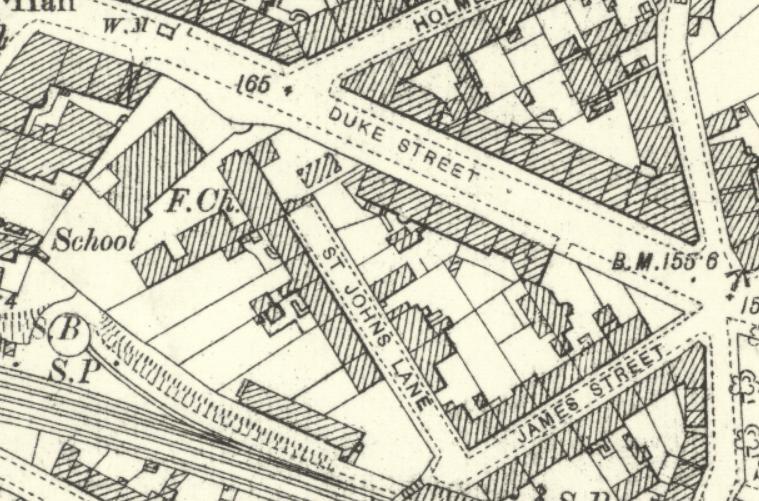 St. John's Lane 1890.